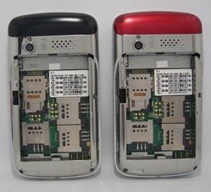 Celular de 4 chip