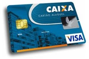 Cartão caixa aluguel