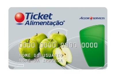 Ticket alimentação saldo online
