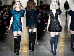 Vestidos da moda 2011 outono inverno