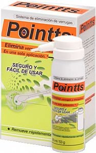 Pointts verrugas tratamento contra verrugas