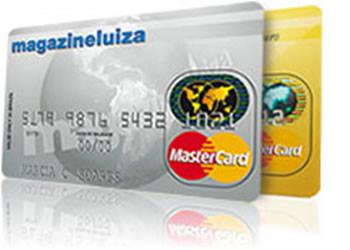 Cartão de crédito do magazine luiza