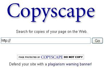 Copyscape – Saiba quem Anda te Plagiando