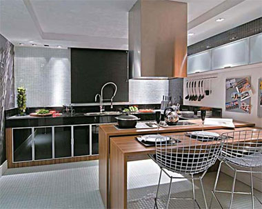 decoraçao cozinha americana fotos e dicas