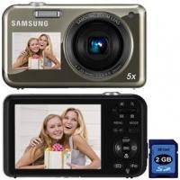 camera-digital-samsung-pl120-14-2-mp-prata-cartao-sd-2gb