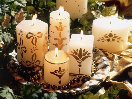 Como Usar Velas na Decoração Natalina 2