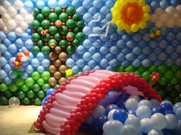 Fotos de Decoração com Balões 1