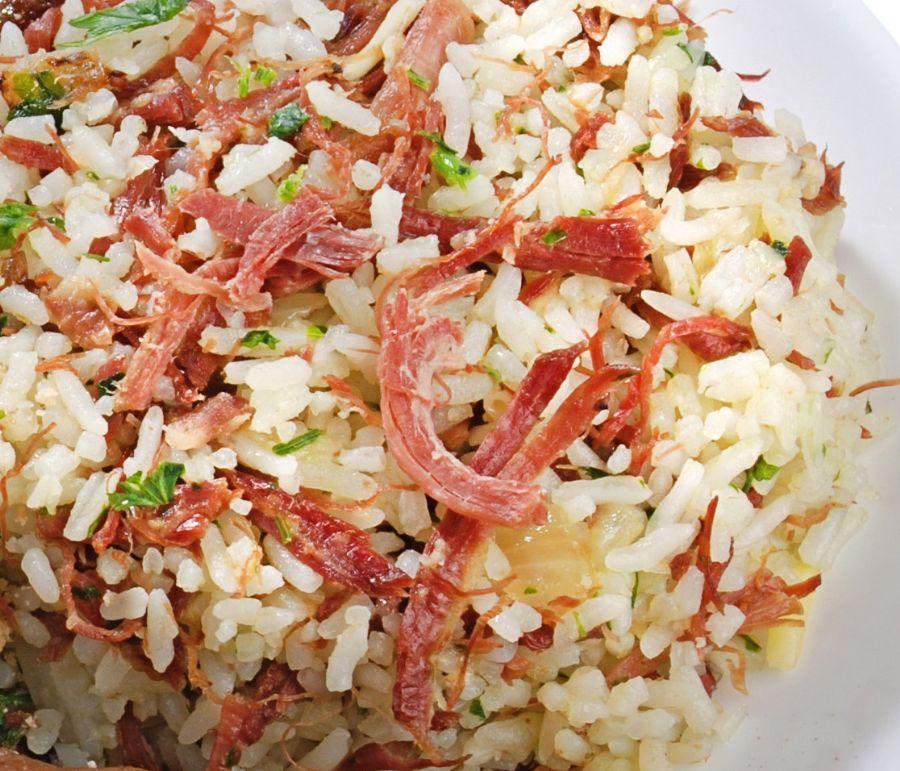 Receita de Arroz Carreteiro Com Carne Seca – Como Preparar 4