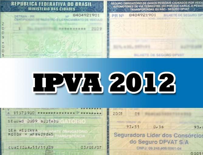 ipva-2012-valor