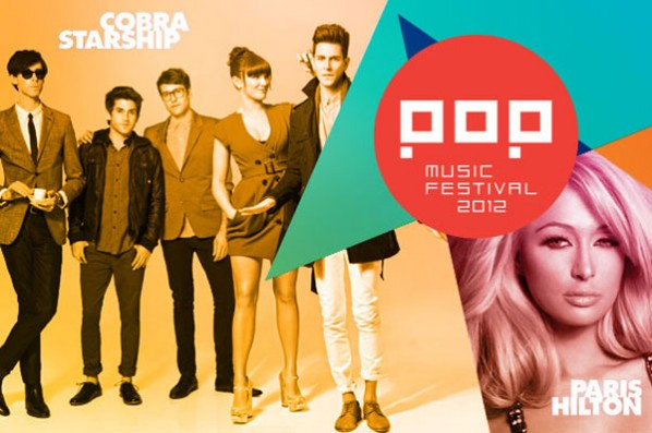 Programação do Pop Music Festival 2012 4