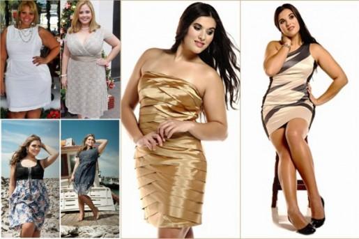 Vestidos Para Madrinhas Plus Size 2012 – Modelos  4