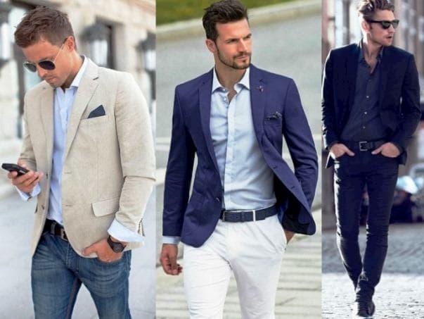 traje esporte fino masculino 7