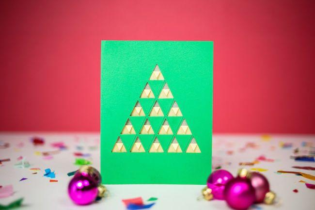 cartão de natal manual
