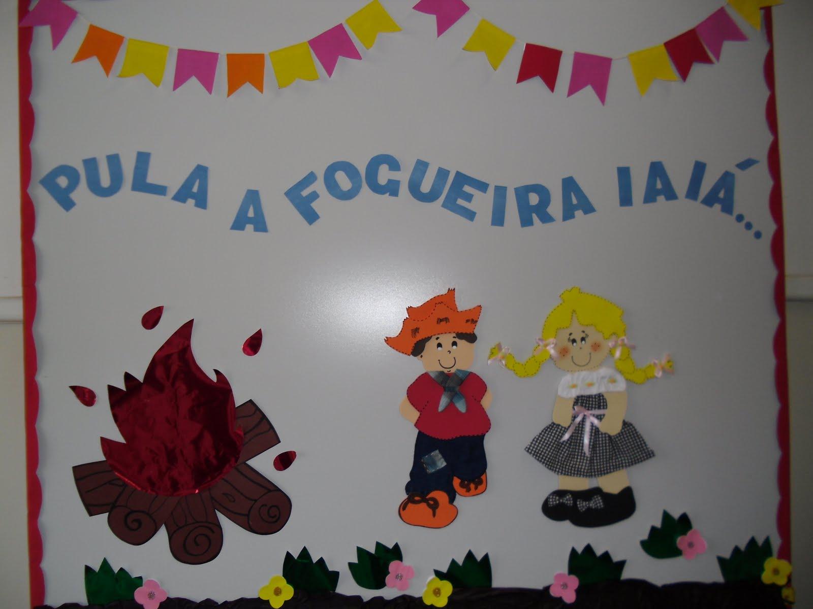 Como decorar salas de aula infantil para as festas juninas