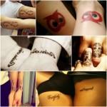 Sugestões de tatuagem românticas3