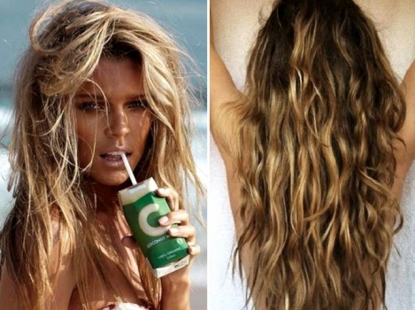 Como ter cabelo de surfista