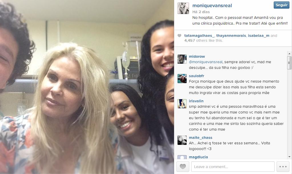 Monique Evans é internada em clinica psiquiátrica2