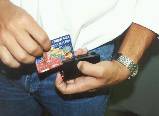 Clonagem de cartão de crédito