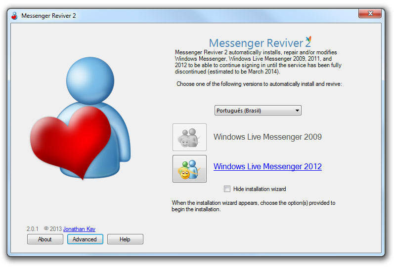 Programa permite uso de MSN88888888