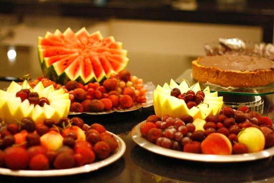 As frutas que combinam com o réveillon 2015 Como Fazer Fácil! -> Como Decorar Frutas Para Ano Novo