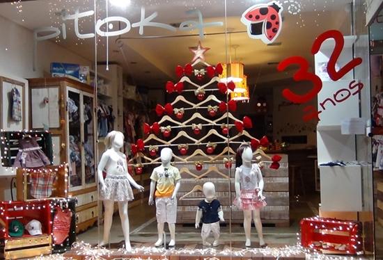 Decoração de natal para vitrines 2014 (3)