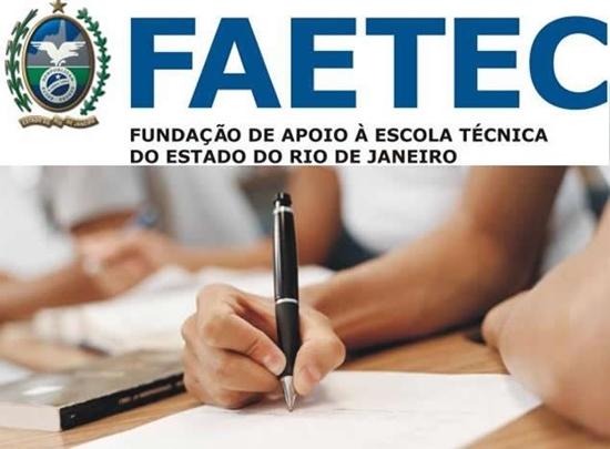 Faculdade Gratuita 2015 no RJ pela FAETEC