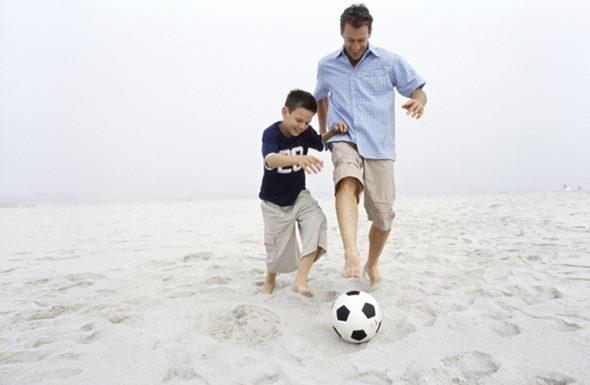 Presentes para pais esportistas