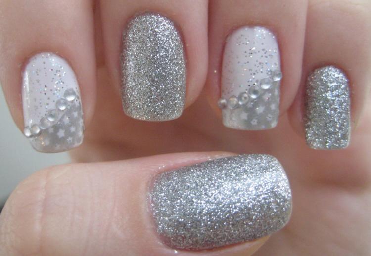 Unhas decoradas com glitter (4)