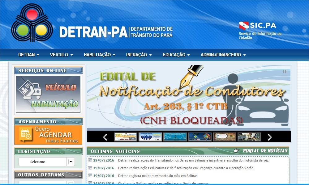 Consulta de Multas e CNH no Detran de Pará (3)