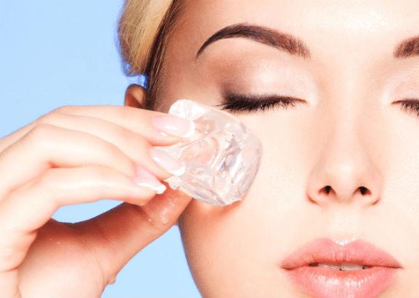 tratamento caseiro para olho inchado