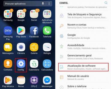 Como atualizar o software do celular Samsung